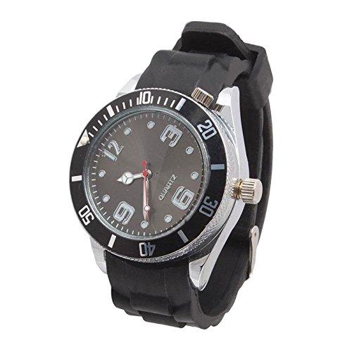 digitaluk Grinder Rad schwere Spike Zigarette Tabak Herb Crusher Metall Weichen Amazing Armbanduhr Stil schwarz