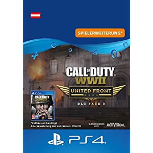 Call of Duty: WWII – DLC3: United Front DLC | PS4 Download Code – österreichisches Konto