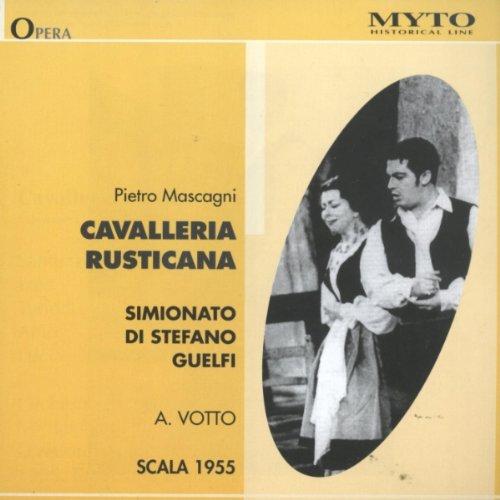 Mascagni:Cavalleria Rusticana [Import anglais]
