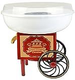 Gadgy Maquina de Algodón de Azúcar | Cotton Candy Machine para Casa | USA Azúcar Normal o Caramelos Duros | Estilo Retro para Fiesta y Ocasiones Especiales | Igual Que la Feria!
