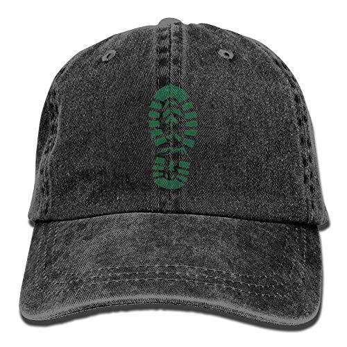 Aoliaoyudonggha Appalachian Trail Marker Hike Hiker Adjustable Baseball Caps Denim Hats Cowboy Sport Outdoor