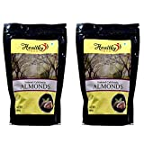 #5: Healthy Feast Natural California Almonds 500 Grams- Pack of 2