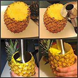 CPEX All In One pineapple Cutter Corer,Slicer,Peeler