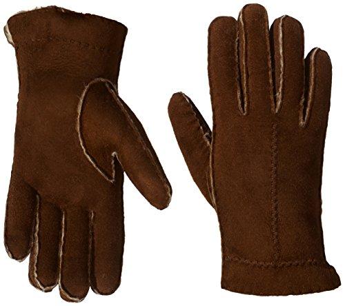 Roeckl Damen Handschuh Flechtnaht Lammfell 13013-646, Braun (764), 8 (Herstellergröße: 8)