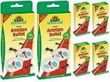 2 x 2 Neudorff Loxiran AmeisenBuffet Dosen + 4 x 40 ml Köder-Nachfüller
