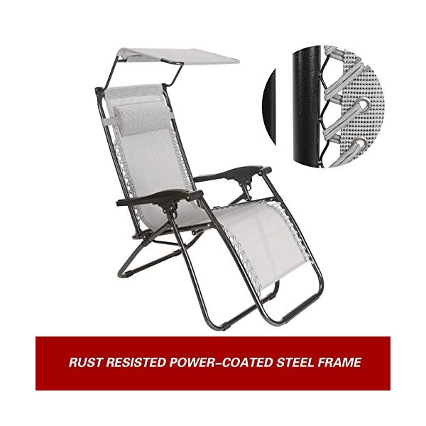 Superworth Set Of 2 Zero Gravity Chairs 200 Kg Weight Capacity