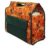 Kleiber 918-83 Nähmaschinentasche, Polyester, orange, 65 x 28 x 10 cm