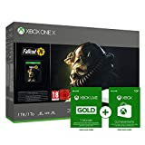Xbox One X 1TB - Fallout 76 Bundle Special Edition Weiß + Xbox Live Gold Mitgliedschaft 3 Monate + 10 EUR GRATIS