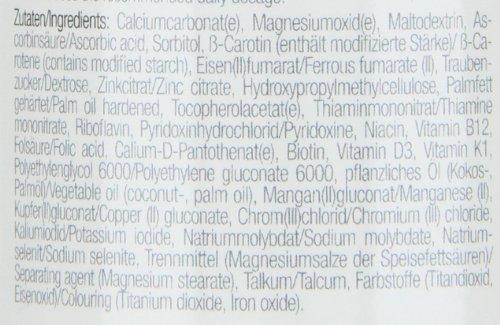 Body Attack Multi Vitamin, 200 Tabletten, 2er Pack (2x 140g), Dose - 3