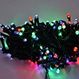 #9: MJR Super Bright Multi Color Remote LED Light - 25 M / 80 foot Light String for Parties / Puja / Christmas/ New Year