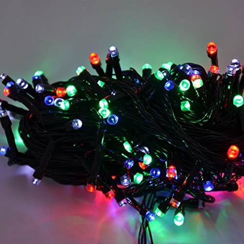 Elson Decorative 30 meter muticolor led light with Mini Controller