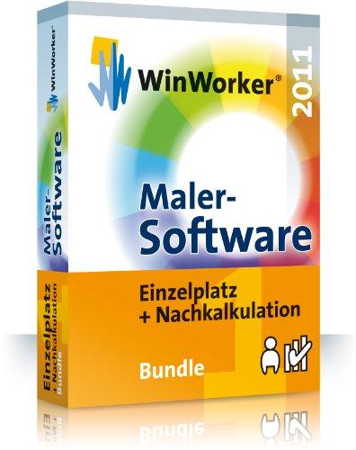 WinWorker Malersoftware 2011 - 1 Arbeitplatz Bundle