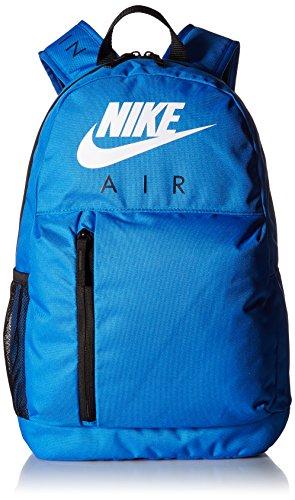 7668b1ffc12 Nike Unisex-Kinder Y NK ELMNTL BKPK-GFX Rucksack, Mehrfarbig (Signal Blue