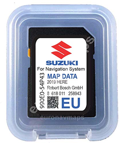 SD Card Suzuki SLDA Europe 2018-990E054P43000 -