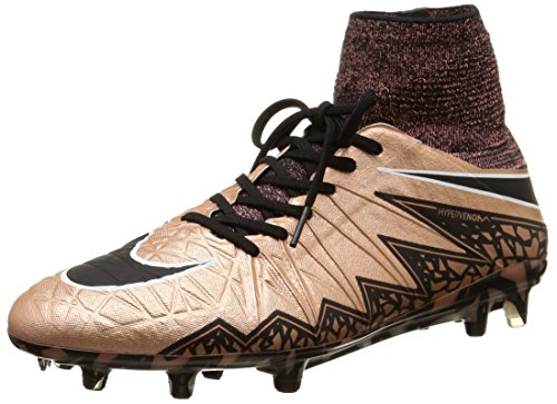 Nike Hypervenom Phantom Ii Fg, Scarpe sportive, Uomo, Marrone (Braun (Metallic Red Bronze/Green Glow/Black 903)), 45