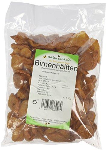 Naturix24 Birnen ungezuckert – Beutel, 1er Pack (1 x 1 kg)