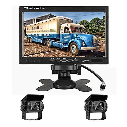 Caméra de recul arrière - Vision Nocturne étanche entraînant Un système de stationnement inversé pour Voitures, camions, véhicules récréatifs, remorques, Autobus, récolteuse, ramassage, autocaravane