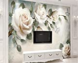 XCMB 3d modern personality wallpaper simple hand painted oil painting floral European background wall-350cmx245cm