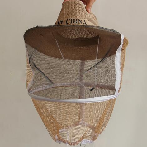 ulable protectora Sombrero Cabeza Pantalla Control De Plagas de insectos repelente de mosquitos Apicultura jardinería