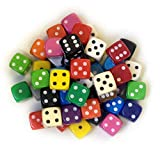 BigCherry - Dice, 50 x 12mm Round Corner Spot - Mixed by DICE AND GAMES