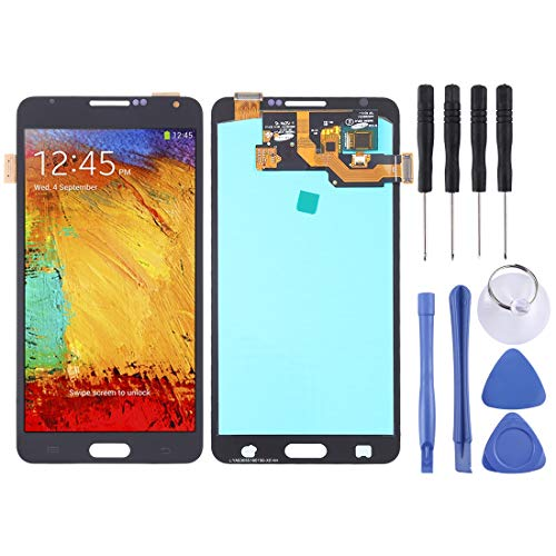 Repair Spare Parts Ersatz-LCD-Bildschirm und Digitizer Full Assembly (OLED-Material) for Galaxy Note 3, N9000 (3G), N9005 (3G / LTE) (Schwarz) (Color : Black) (Galaxy Note 3 Ersatz-bildschirm)