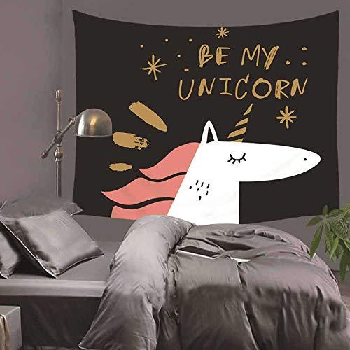 meaosyy Stilvolle Nette Karikatur-Hundetapisserie-Wand-hängende Wand-Gewebe-Muster-Hintergrund-Wand-Tapisserie-Heimtextilien-Yoga-Badetuch-Tabelle-200x150CM -