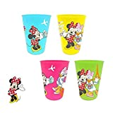 Minnie Mouse - Set 4 vasos de plastico (Suncity MID101464)