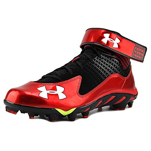 Under Armour Spine Fierce Mid MC Synthétique Baskets Black-Red