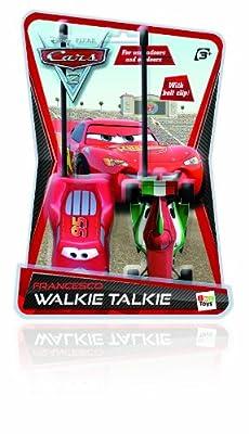 IMC Toys 250291 Cars 2 - Walkie-talkie con diseño de Francesco y McQueen por Imc Toys