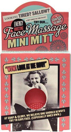 Soap And Glory Face Massage Mini Mitt Energy Boosting