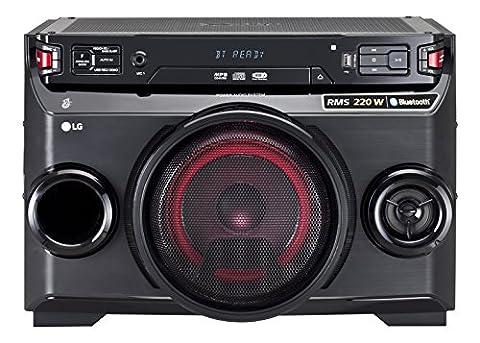 LG OM4560 Système Audio