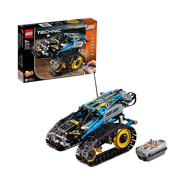 Lego - Technic Stunt Racer, Veicolo Telecomandato ad Velocità , Completamente Motorizzato, con Cingoli e Grandi Ruote… 1 spesavip