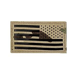 TaiwanGun Reverse USA Flag Patch–Multicam