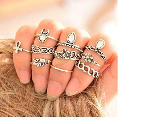 ilovediy-10pcs-womens-knuckle-midi-mid-finger-tip-stacking-rings-set