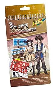 Folia 41102-Plantilla Libro Piratas Aventura
