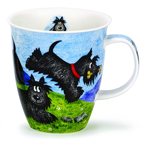 Dunoon en porcelaine anglaise Highland animaux Mug - Scottie Dog