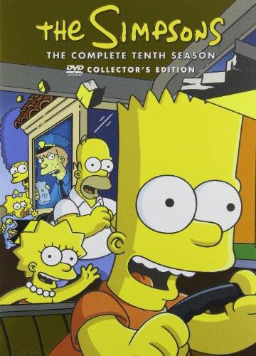 Simpsons: Season 10 / (P&S Ac3 Dol Rpkg) [DVD] [Region 1] [NTSC] [US Import]