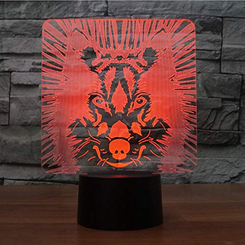 Lámparas De Ilusión Óptica Arte 3D Luces De Escultura