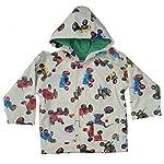 Powell Craft Boys Tractor Raincoat/Jacket.Multicolored