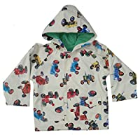 Powell Craft Boys Tractor Raincoat/jacket.multicolored