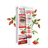 2 PCS Goji Beere Falten-entfernende Augencreme Tief feuchtigkeitsspendende für die Entfernung von Augenringen und die Augenpflege