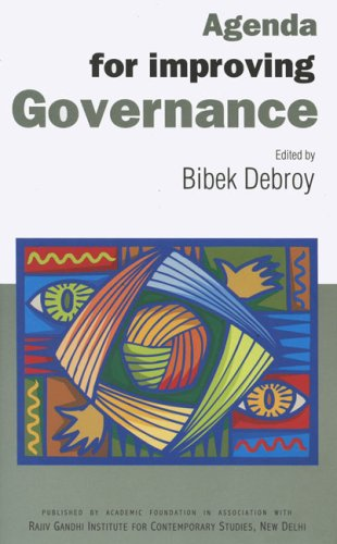 Agenda for Improving Governance: Select Papers on Governance
