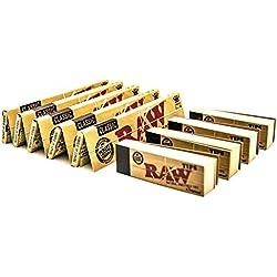 RAW [5Packs Classique Taille King Size papiers avec Pointes à Rouler livrets [4]