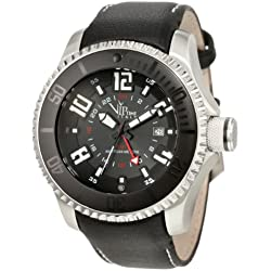 Vip Time Italy Men's VP5044ST Magnum GMT Watch