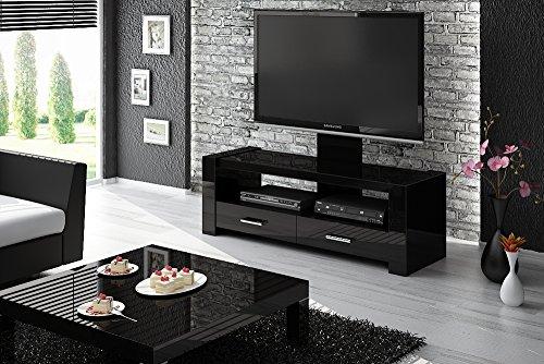 Monaco - TV/Fernseh (LCD Plasma LED) Lowboard mit Halterung (hochglanz) (Monaco-schrank)