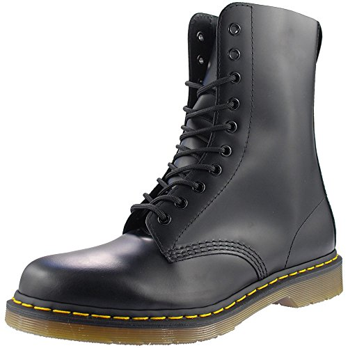 Dr. Martens Adult CLASSIC 10 EYE DM BOOT Schwarz