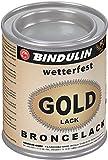 Bindulin Goldlack wetterfest Metallfarbe (125 ml)