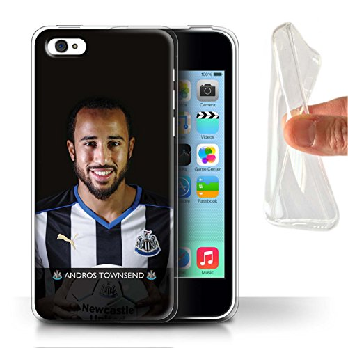 Officiel Newcastle United FC Coque / Etui Gel TPU pour Apple iPhone 5C / Colback Design / NUFC Joueur Football 15/16 Collection Townsend