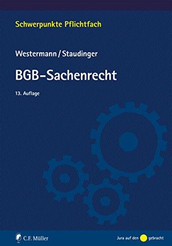 BGB-Sachenrecht (Schwerpunkte Pflichtfach)