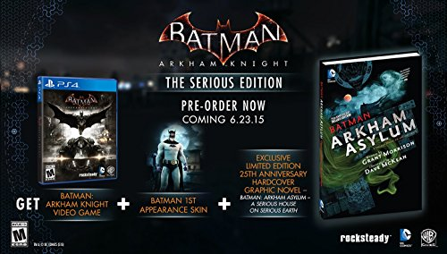 Batman: Arkham Knight - The Serious Edition (Comic Bundle) - PlayStation 4